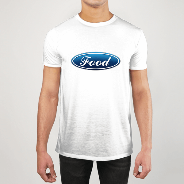 Food MEN GRAPHIC T-SHIRT