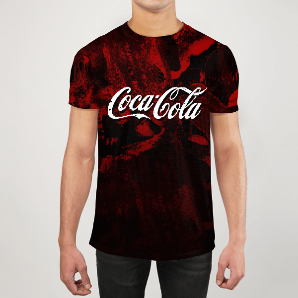 Cocacola Love Men ALL-OVER PRINT T-SHIRT
