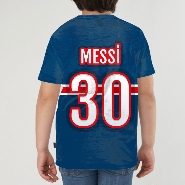 Messi KIDS ALL-OVER PRINT T-SHIRT