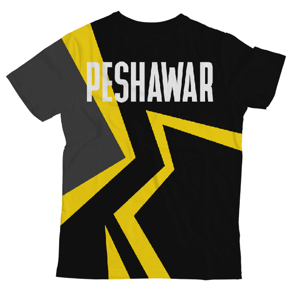 Team Peshawar UNISEX ALL-OVER PRINT T-SHIRT