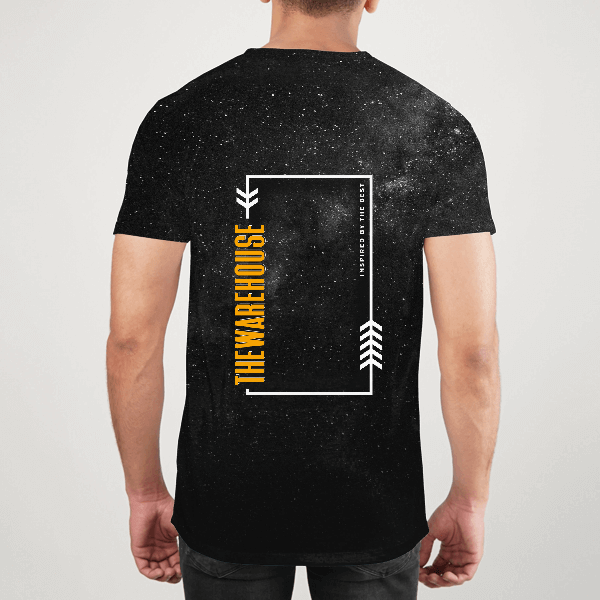 The Warehouse Men ALL-OVER PRINT T-SHIRT