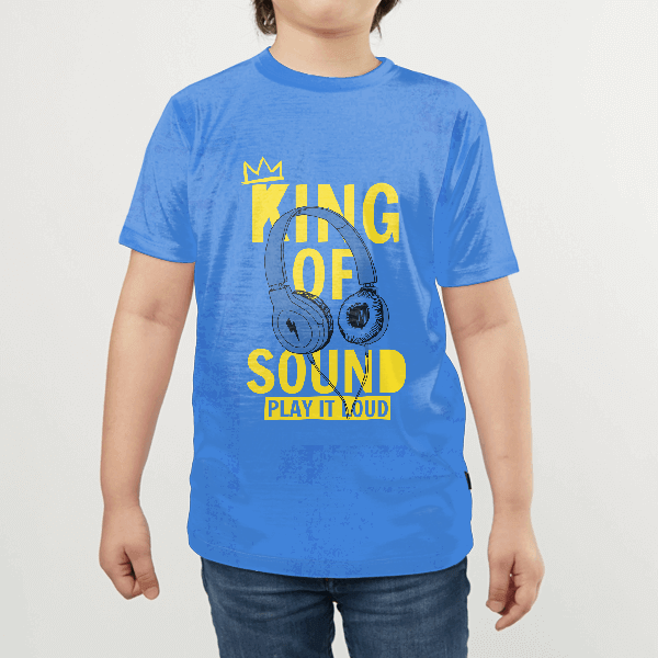 King Of Sound KIDS ALL-OVER PRINT T-SHIRT