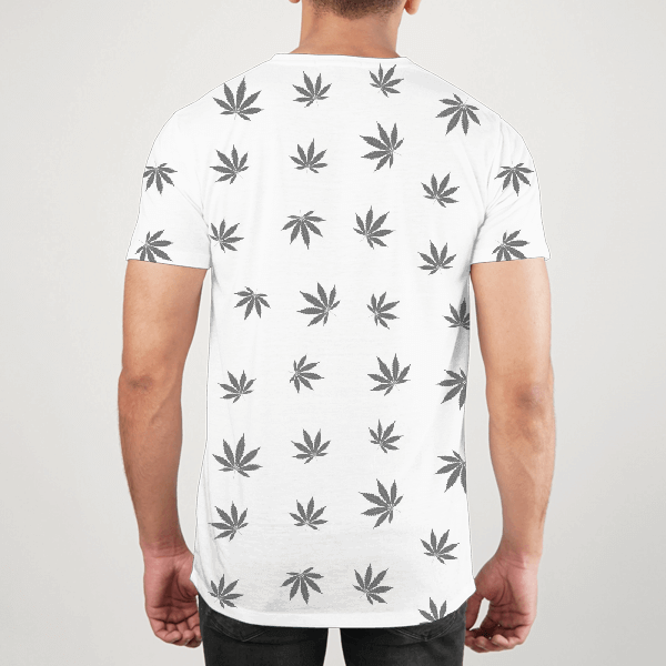 Weed Pattern Men ALL-OVER PRINT T-SHIRT