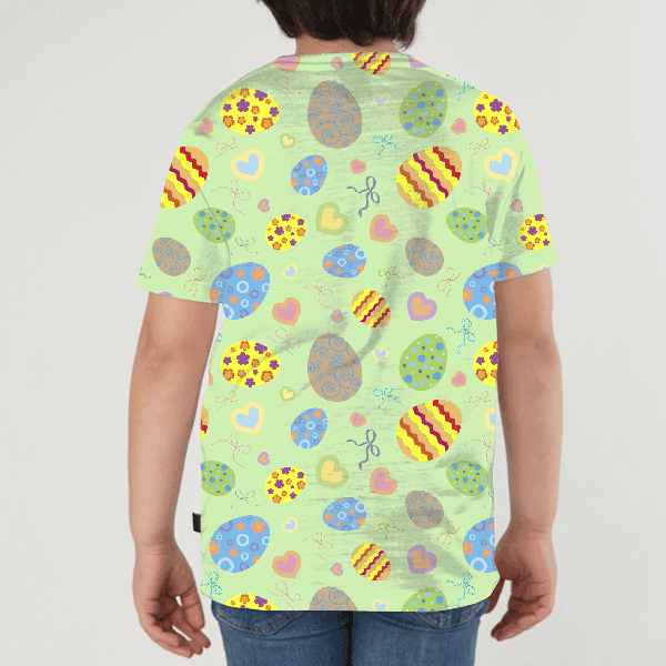 Eastwe Pattern KIDS ALL-OVER PRINT T-SHIRT