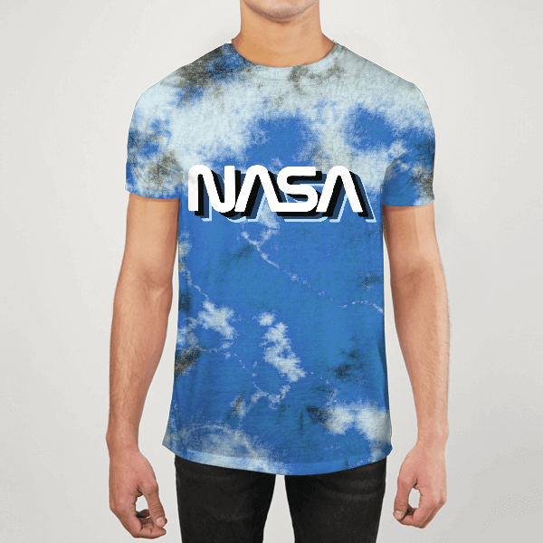 Nasa Tie Dyed Men ALL-OVER PRINT T-SHIRT