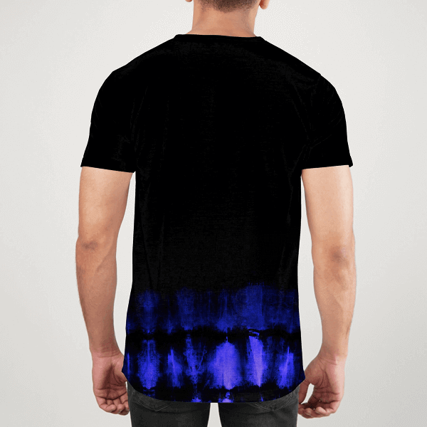 Hype Tie Dyed Men ALL-OVER PRINT T-SHIRT