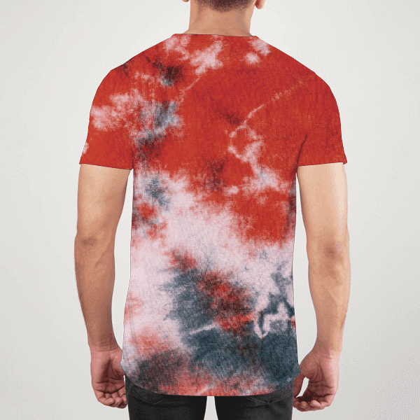Vibe Tie Dyed Men ALL-OVER PRINT T-SHIRT