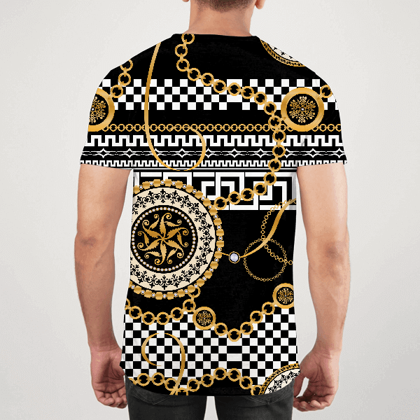 Gold Chained Men ALL-OVER PRINT T-SHIRT