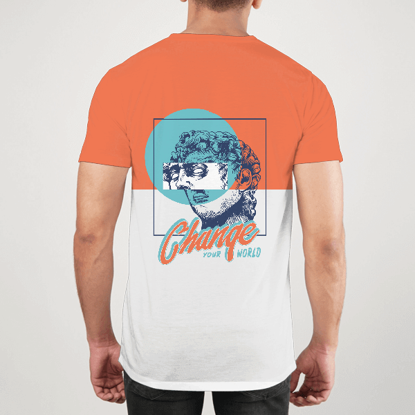 Change Your World Men ALL-OVER PRINT T-SHIRT
