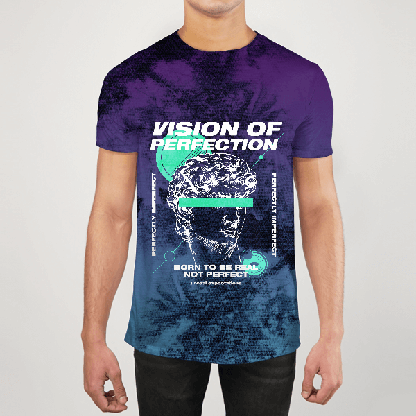 Vision Of Perfection Men ALL-OVER PRINT T-SHIRT