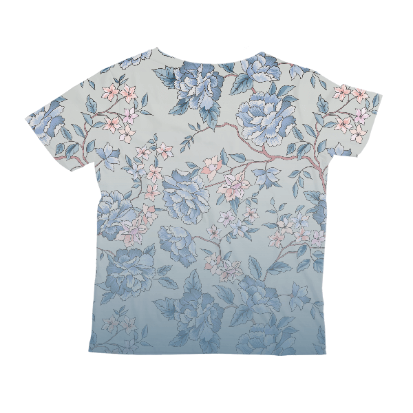 Floral Fade KIDS ALL-OVER PRINT T-SHIRT