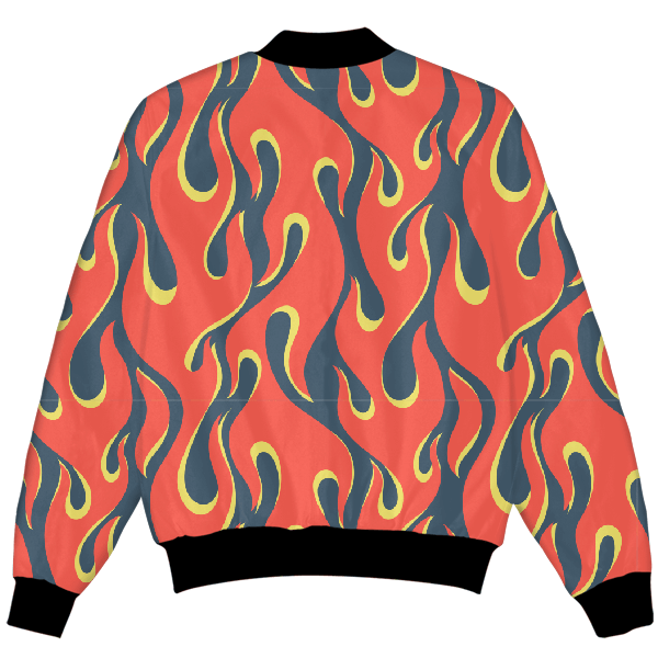 Flames All Over UNISEX JACKET