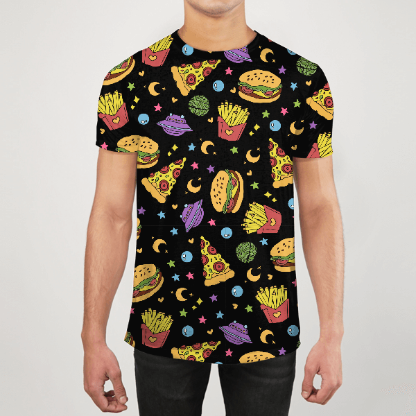 Junk Food Men ALL-OVER PRINT T-SHIRT