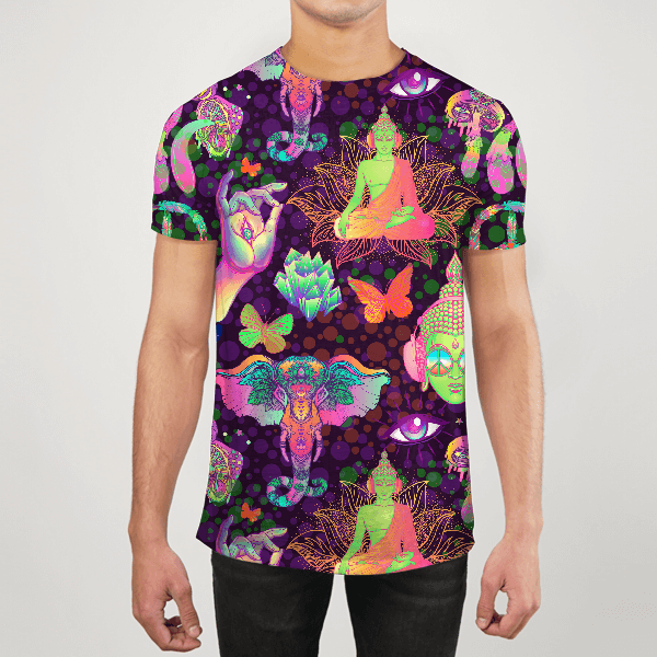 Neon Therapy Men ALL-OVER PRINT T-SHIRT