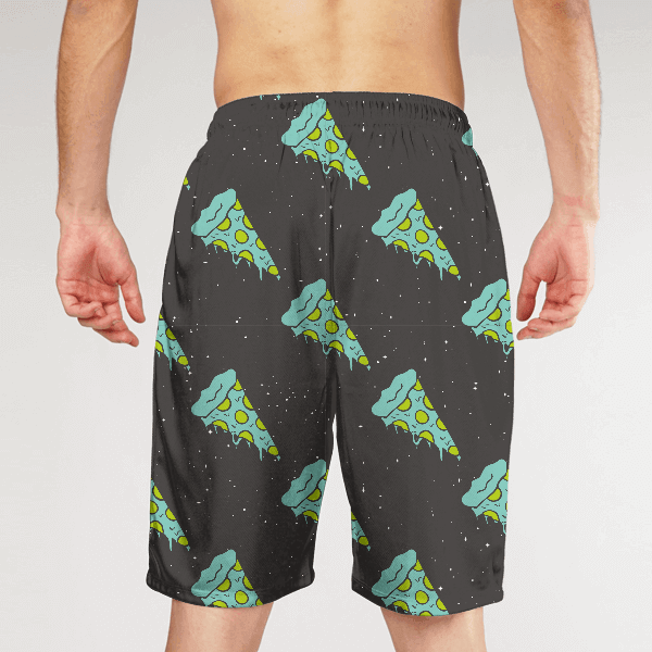 Pizza From Space MEN SHORTS