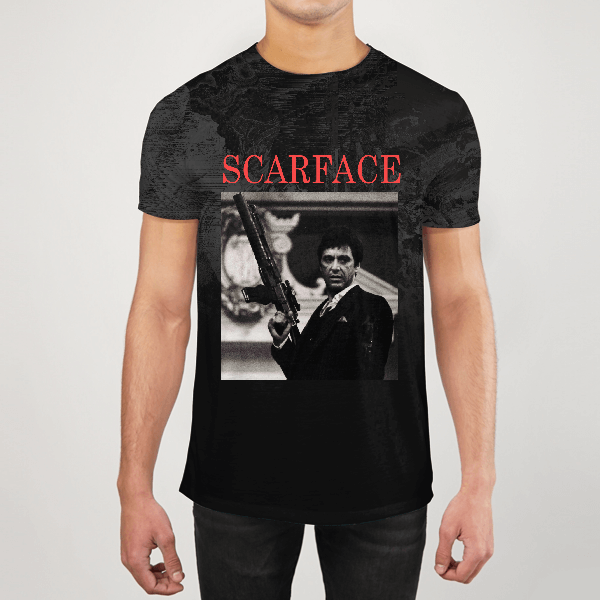 Scarface Men ALL-OVER PRINT T-SHIRT