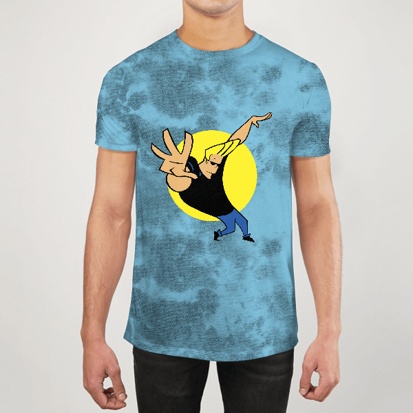 Johnny Bravo Men ALL-OVER PRINT T-SHIRT