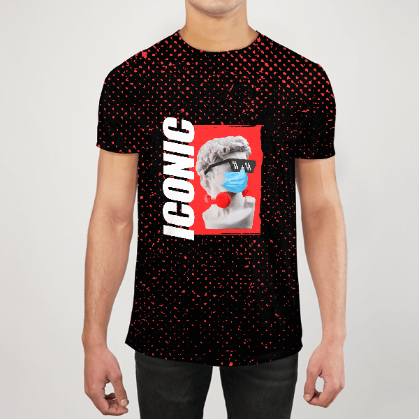 Iconic Men ALL-OVER PRINT T-SHIRT