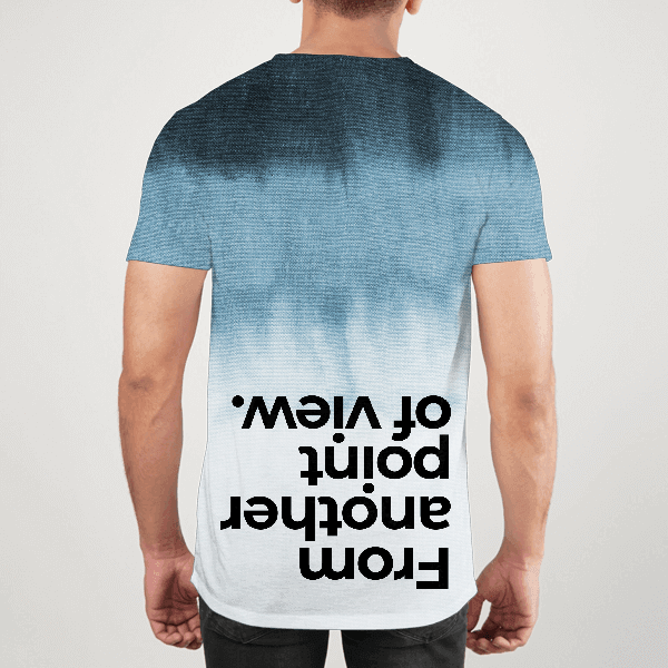 Another Point Of View Men ALL-OVER PRINT T-SHIRT