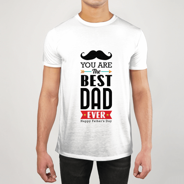 The Best Dad Ever MEN GRAPHIC T-SHIRT