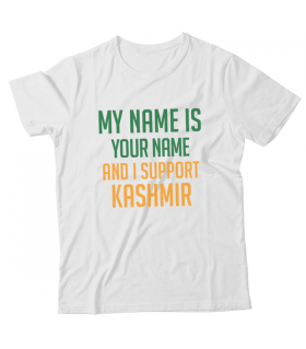 Support Kashmir Unisex Graphic T-Shirt