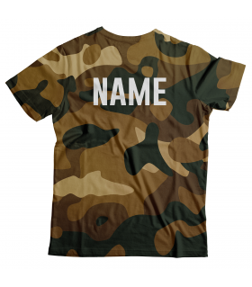 Personalized Army Unisex All Over Printed T-Shirt