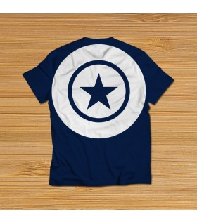CAPTAIN AMERICA all over printed t-shirt