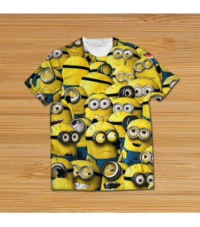 MINIONS All Over Printed T Shirt