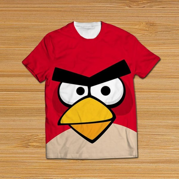 Angry Bird All Over Printed T-shirt