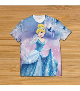 cinderella all over printed t-shirt