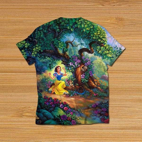 Fairy Tales All Over Printed T-shirt