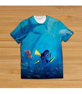 finding nemo all over printed t-shirt
