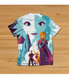 frozen all over printed t-shirt