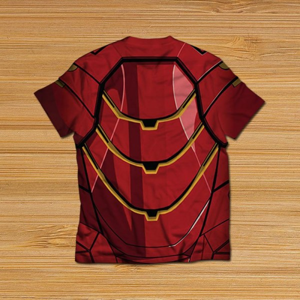 iron man suit all over printed t-shirt