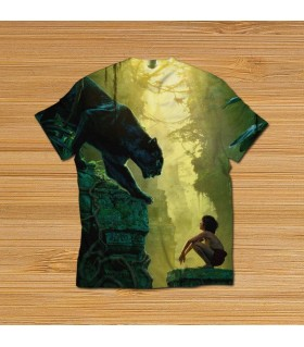 jungle book all over printed t-shirt