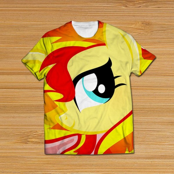 little pony  all over printed t-shirt