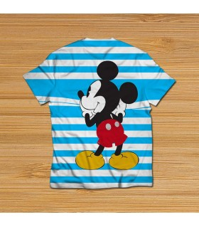 mickey mouse hiding all over printed t-shirt