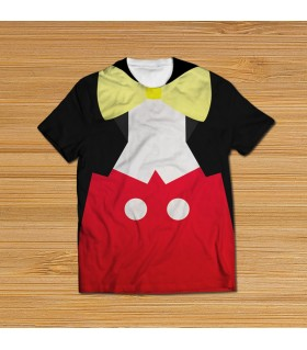 mickey mouse suit all over printed t-shirt