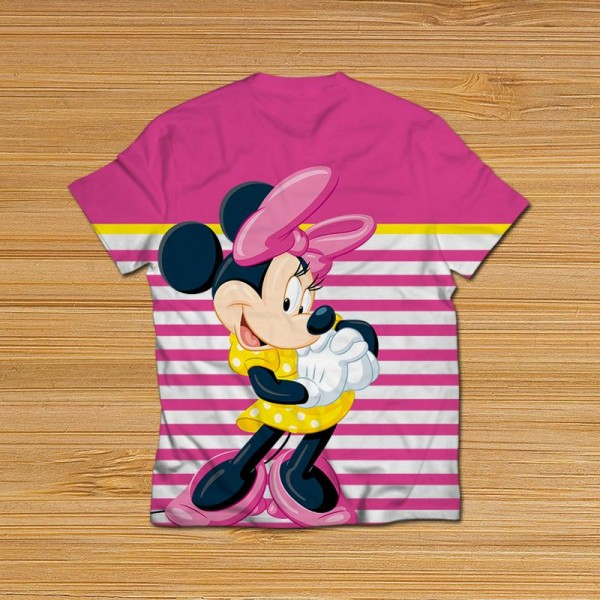 minnie mouse all over printed t-shirt