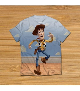 sheriff woody all over printed t-shirt