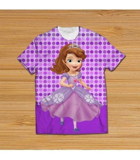 sofia the first all over printed t-shirt