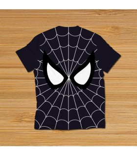 spider-man all over printed t-shirt