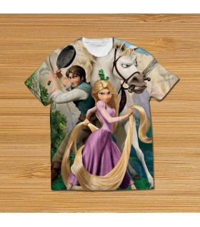 tangled all over printed t-shirt