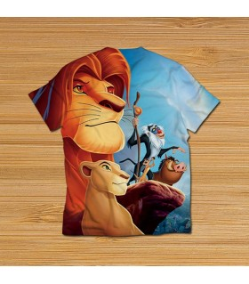 the lion king all over printed t-shirt