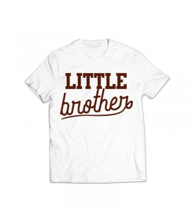 little brother printed graphic t-shirt
