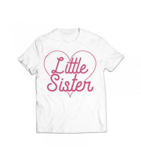 little sister printed graphic t-shirt
