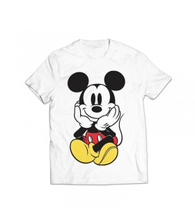 mickey mouse printed graphic t-shirt