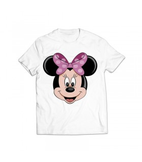 minnie mouse printed graphic t-shirt
