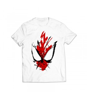 spider man printed graphic t-shirt