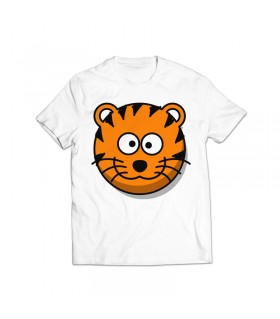 tiger printed graphic t-shirt